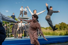 Bombers, choreographed by Monica Dottor (4th Line Theatre)