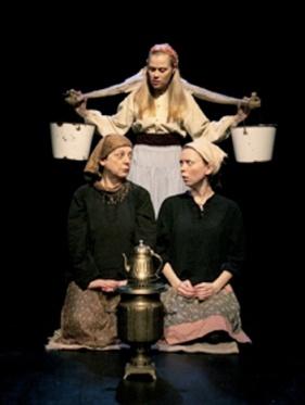 """Monica in """"Chekhov's Heartache"""" (Theatre Smith-Gilmour)"""